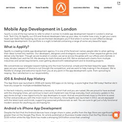 Mobile App Development in London - Applify