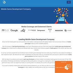 Mobile Game Development Company In India