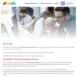 Where Can I Find a Mobile App Development Company?