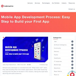 Mobile App Development Process: Easy Step to Build your First App
