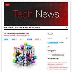 Top 5 Mobile App Development Tools