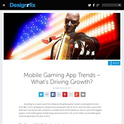Mobile Gaming App Trends – What's Driving Growth?