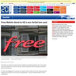Free Mobile étend la 4G à son forfait low cost