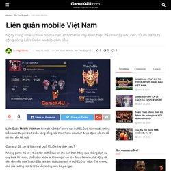 Liên quân mobile Việt Nam - GameK4u- Cập nhập tin tức esports nhanh nhất