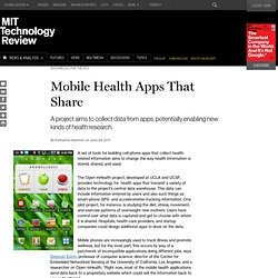 Mobile Health Apps That Share
