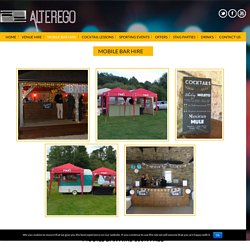 Mobile bar hire - Alterego - Mobile Bar Hire Bristol