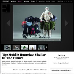 The Mobile Homeless Shelter Of The Future