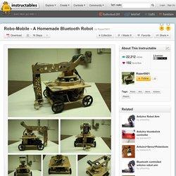 Robo-Mobile - A Homemade Bluetooth Robot