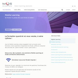 Mobile Learning - MindOnSite