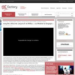 """Débat webtv """"faire du mobile un vrai levier de différenciation"""""""