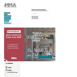MMAF : Mobile Marketing Association France