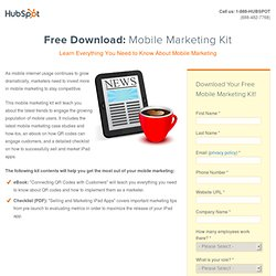 Free Mobile Marketing Kit