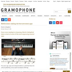 Mobile music-making: the best new music apps