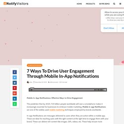 Exciting Ways To Engage With Users