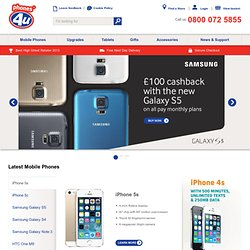 Mobile Phones | Huge Mobile Phone Deals On The Latest Smartphones