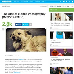 The Rise of Mobile Photography [INFOGRAPHIC]