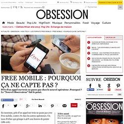 Free mobile : pourquoi ça ne capte pas ?