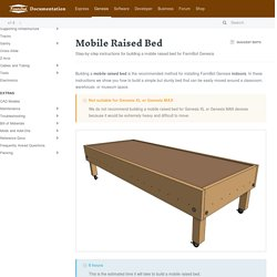 Mobile Raised Bed