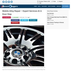 Mobile alloy repair – Expert Services at a Door Step