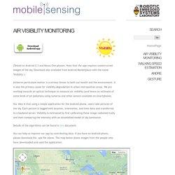 Mobile Sensing