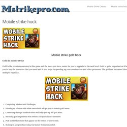mobile strike hack tool download
