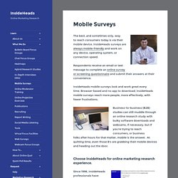Mobile Surveys - InsideHeads