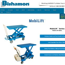 Mobile Lift Tables - BX & BXB Lift Table Series