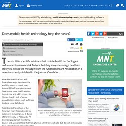 Does mobile health technology help the heart?
