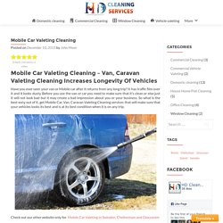Mobile Car Valeting Cleaning – HD Clean