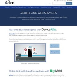 Mobile and Web Services