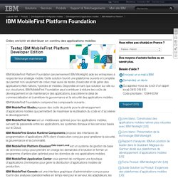IBM MobileFirst Platform Foundation