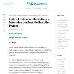 Philips Lifeline vs. MobileHelp – Determine the Best Medical Alert System - 360Quadrants