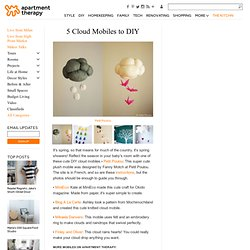 5 Cloud Mobiles to DIY