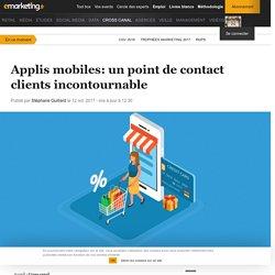 Applis mobiles: un point de contact clients incontournable