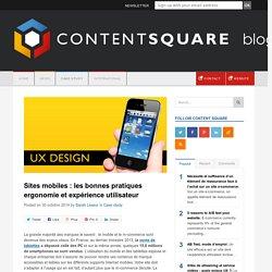 Sites mobiles : les bonnes pratiques ergonomie et UX