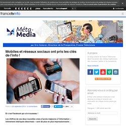 Mobiles et réseaux sociaux ont pris les clés de l'info