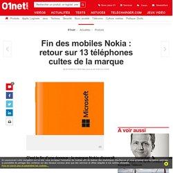 Fin des mobiles Nokia : retour sur 13 téléphones cultes de la marque