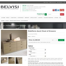 Mobilform Ascot Chest of Drawers