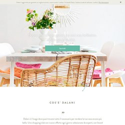 Mobili, accessori e ispirazioni per la casa