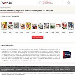 Mobilier de France - Catalogue du magasin Mobilier de France