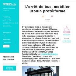 L'arrêt de bus, mobilier urbain protéiforme