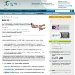 Mobilisation de créances - Comptabilité client