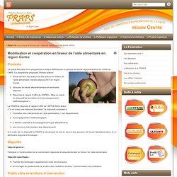 FRAPS - Mobilisation et coopération en faveur de l'aide alimentaire en région Centre