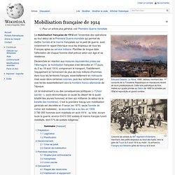 Mobilisation française de 1914