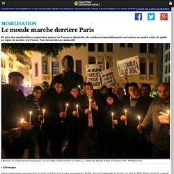 Le monde marche derrière Paris