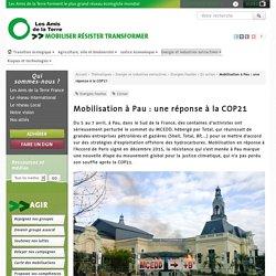 Mobilisation à Pau : une réponse à la COP21 - Les Amis de la Terre