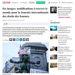 En images: mobilisations à travers le monde pour la Journée internationale des droits des femmes