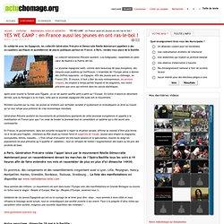 YES WE CAMP : en France aussi les jeunes en ont ras-le-bol !