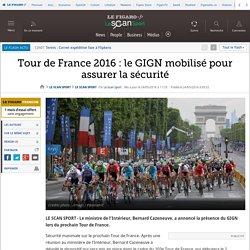 Tour de France 2016 : le GIGN mobilisé pour assurer la sécurité