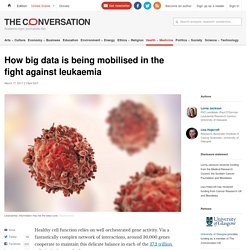 How big data is being mobilised in the fight against leukaemia